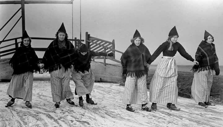 Op de schaats 25 jan 1950