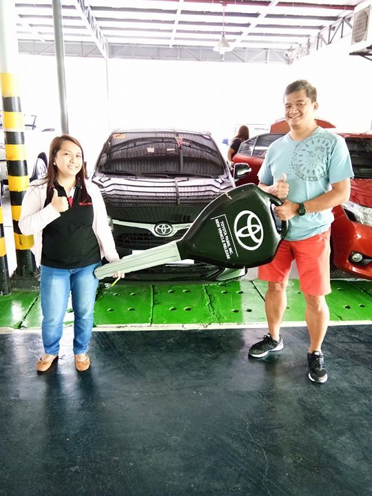 CONGRATULATIONS Mr Michael Castillo(Cainta Rizal) for YOUR ALL NEW TOYOTA WIGO G AT!!! Thank you for trusting and choosing TOYOTA PASIG as your dealer and me as your Marketing Professional! 🎉🎉🎉 Enjoy your new ride! God Bless you! Till our next transaction!!!  FOR INQUIRIES Jocelyn Guarin TOYOTA PASIG 0927-2628184/0932-6748634 #bags #shoes #gifts #souvenir #collection #girlsfashion
