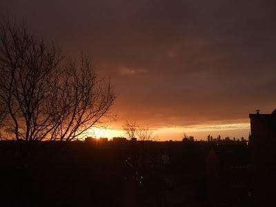 The most amazing sunrise!