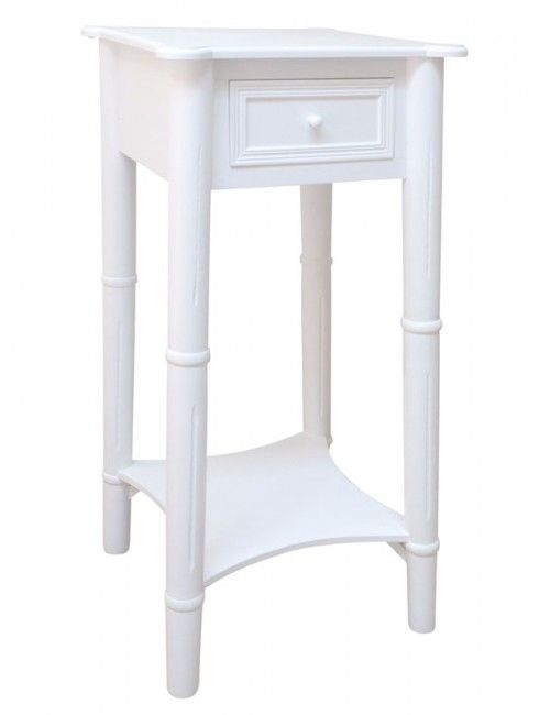 761 best coffee side tables images on pinterest side for Tall white end table