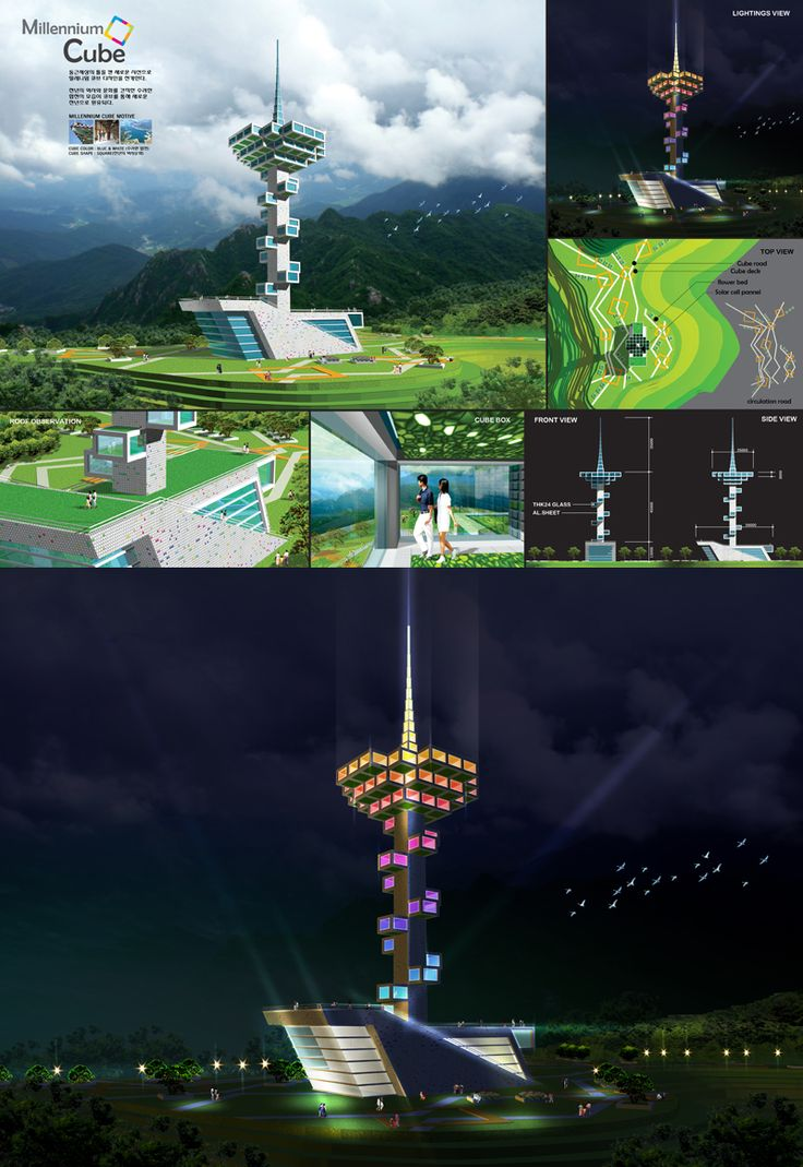 2013 Millennium Cube Observatory Design