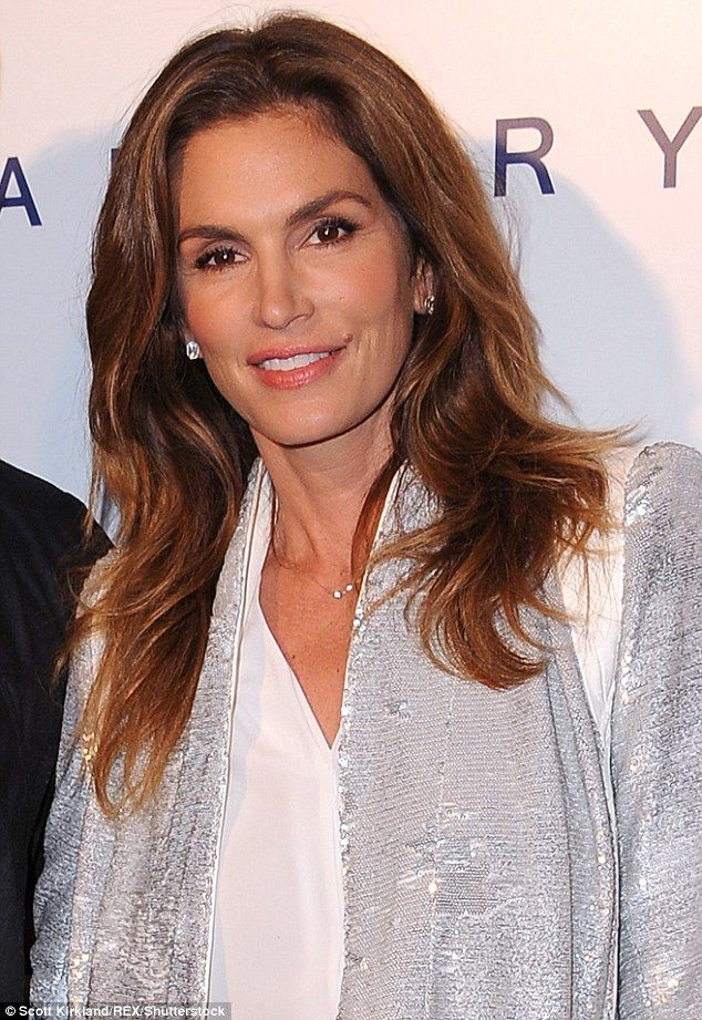But she still looks amazing! Cindy Crawford told New Beauty she is tired of people telling her she no longer looks 20