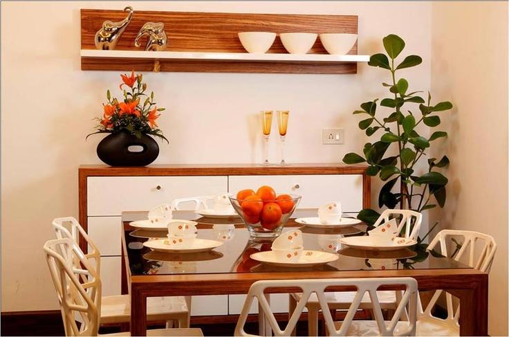 Crockery unit  -SAVIO and RUPA Interior Concepts Bangalore | professional apartment interior designers Bangalore | Modern villa Interior Designers | Residential Interior Designs