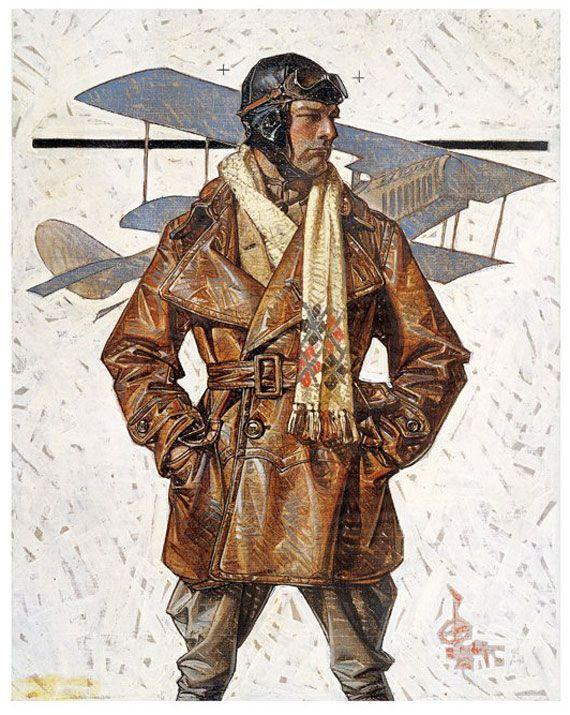 空軍パイロット(1917)J. C. ライエンデッカー                                                                                                                                                                                 もっと見る