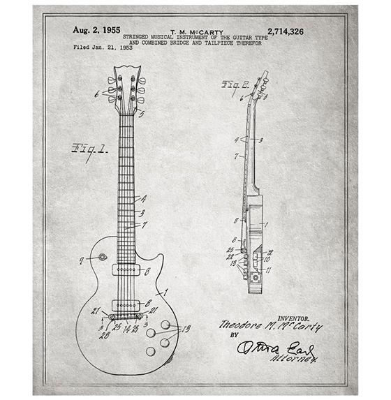 Huckberry | Top Picks: March | Gibson Les Paul Guitar 1955