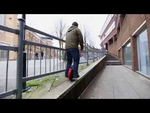 AIRWHEEL X3 INTRODUCTION   How to ride AirWheel - YouTube