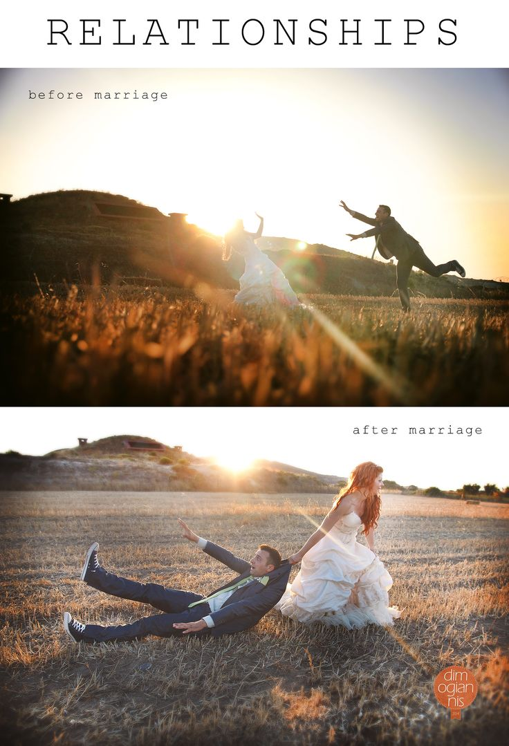 Relationships before and after marriage! #wedding #photography #relationships #quotes