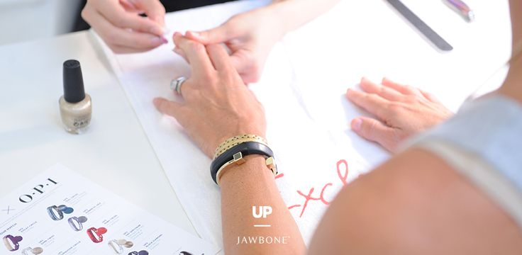 Jawbone and OPI team up to match the 10 new colors of UP2 and UP3 to OPI's library of colors. Learn more from Marketing Manager Emily Anadu. #StyleUP