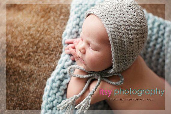 Klassische Bonnet, schlicht Neugeborenes Bonnet, wesentliche Neugeborenen Bonnet, grundlegende Neugeborenen einfache Bonnet, Girl Boy neutrale Fotografie Prop, Neugeborene Hut