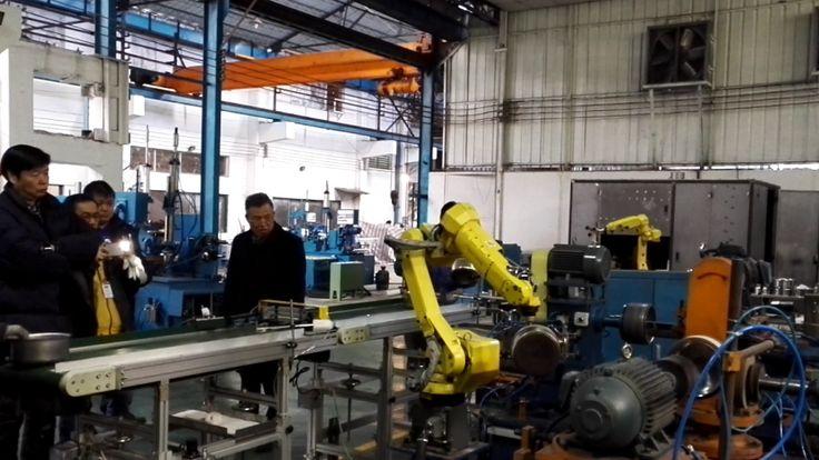 Fanuc robot auto rough grinding fine sanding system