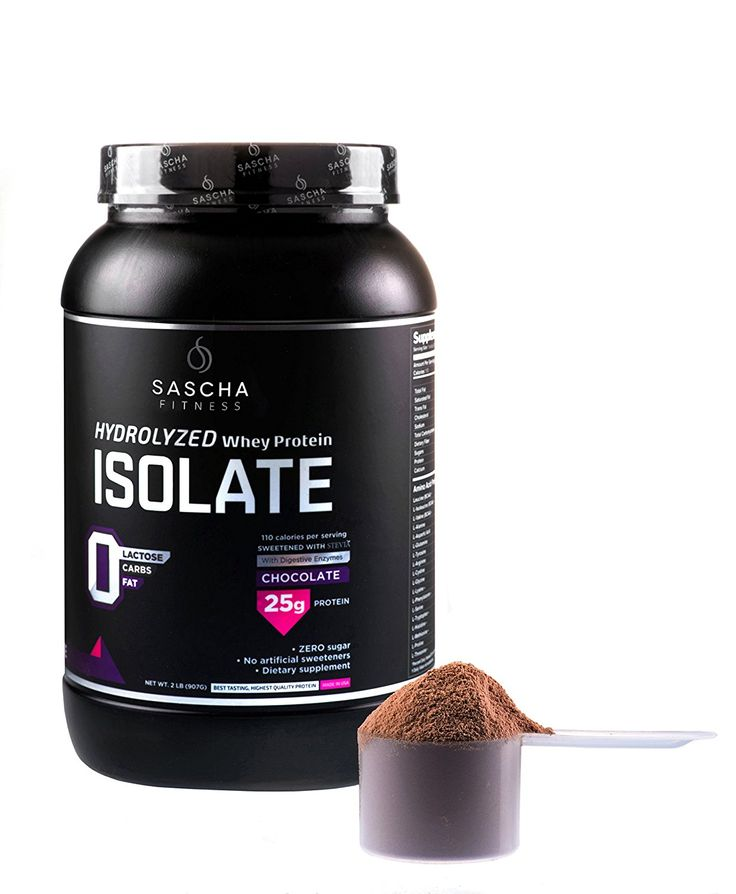 Sascha Fitness Hydrolyzed Whey Protein Isolate ( 2 Pound , Chocolate) About the product BEST QUALITY PROTEIN: 100% isolate and hydrolyzed, your muscles absorbs the protein very fast ,it's the best kind of protein powder if you want to improve body composition. It has 25g Protein per Serving, ideal for protein synthesis and building muscle. …