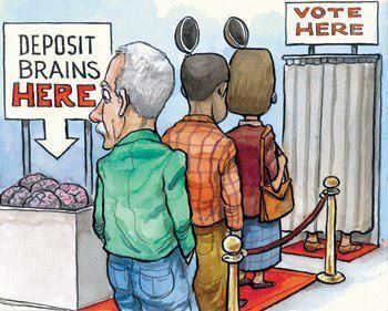 How the government brainwash you to get your vote.
