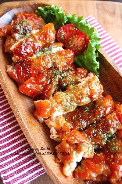 子供が喜ぶ*ケチャップ風味のもっちりチキン |たっきーママ オフィシャルブログ「たっきーママ@happy kitchen」Powered by Ameba