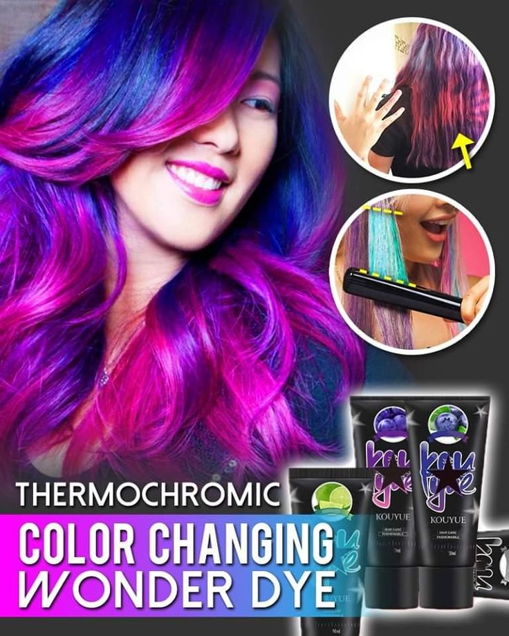 Hair Color Changes With Temperature😍 🔥No More Boring Hair
