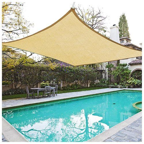 18u0027 square sun shade sail canopy cover top shelter garden lawn yard pool outdoor red