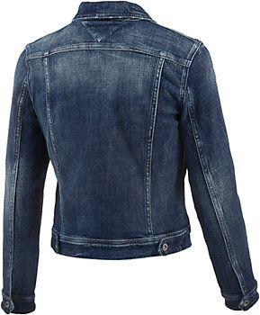 <title>Tommy Hilfiger Jeansjacke Damen blue denim im Online Shop von SportScheck kaufen</title>