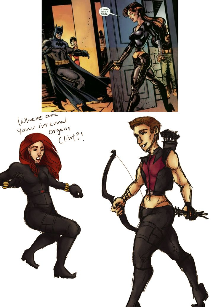 Created in December of 2012, The Hawkeye Initiative uses Clint Barton as well as other male comic characters to illustrate how contorted and hyper-sexualized women are commonly drawn in comics.