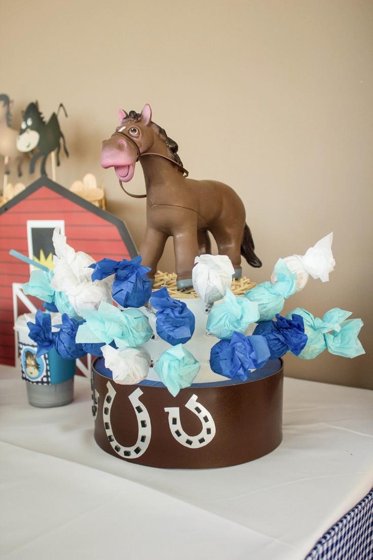 17 best images about caballos horses decoraci n fiesta for Decoracion de mesa de cumpleanos