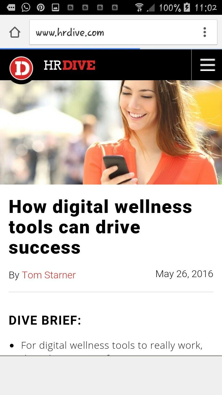 Digital wellness tools