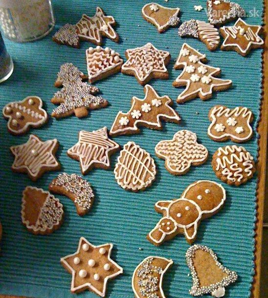 Najlepšie špaldové medovníčky, Slovakian best gingerbread! yum my favorite.