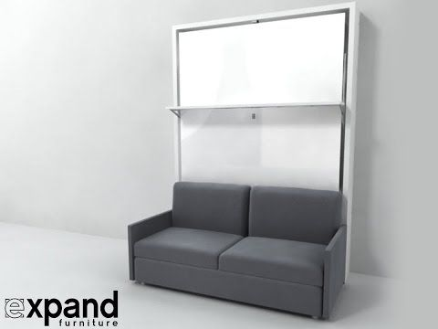 Best Murphy Bed With Couch Ideas On Pinterest Hidden Bed - Wall bed sofa