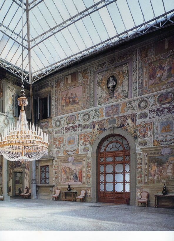 Villa Medici Le Petraia in Florence, Italy. I'm getting Stendhal syndrome just looking at this.