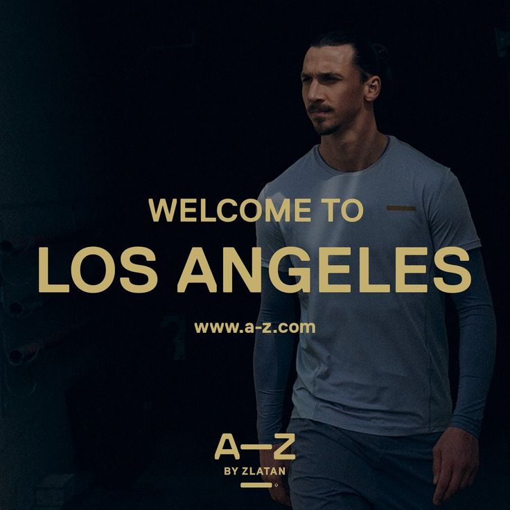 Zlatan Ibrahimović's clothing company A-Z Sportswear appears to has hinted that the Swedish striker could be heading to the MLS when he is back fit