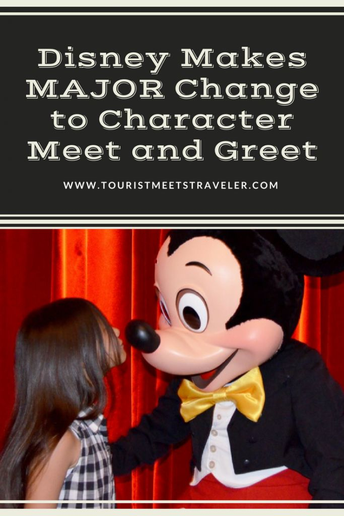 Disney Makes MAJOR Change to Character Meet and Greet
