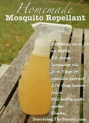Homemade Mosquito Repellant