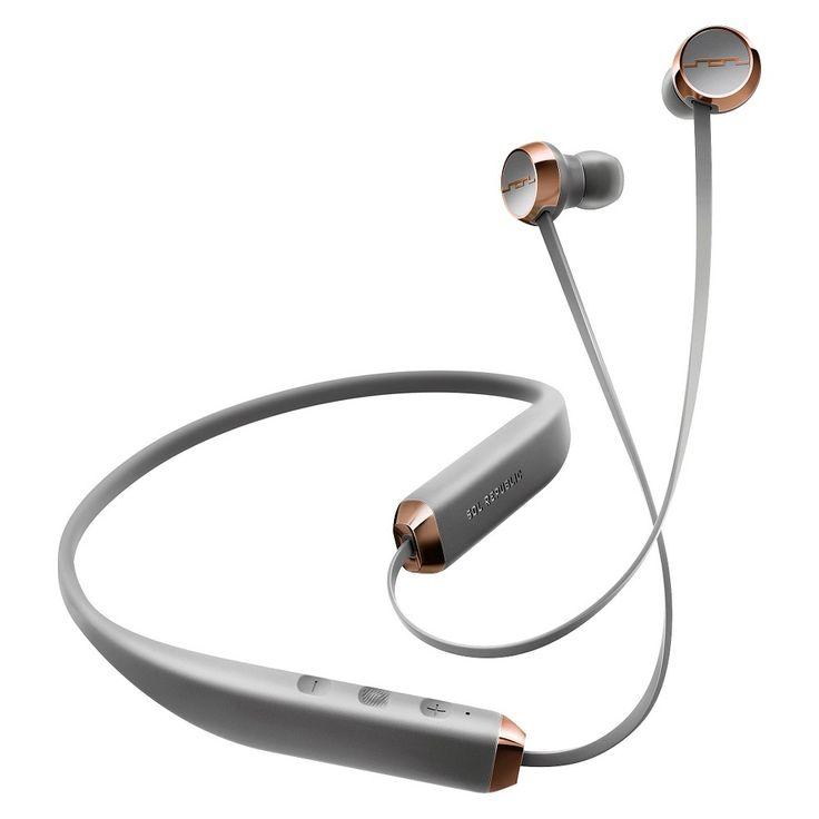 Sol Republic Shadow Bluetooth Headphones - Grey, White