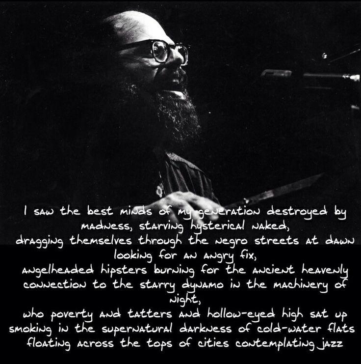Allen Ginsberg's Poetry: Summary & Analysis