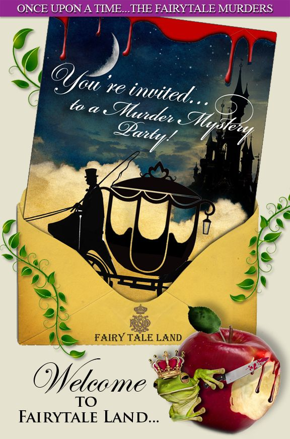 Download a printable MURDER MYSTERY PARTY GAME now, Titanic, Alice in Wonderland.. » 2-Fairytale Murders