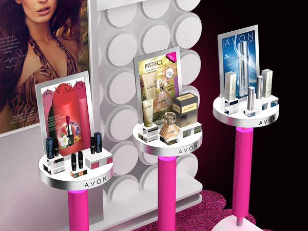 Avon Display Zone on Behance