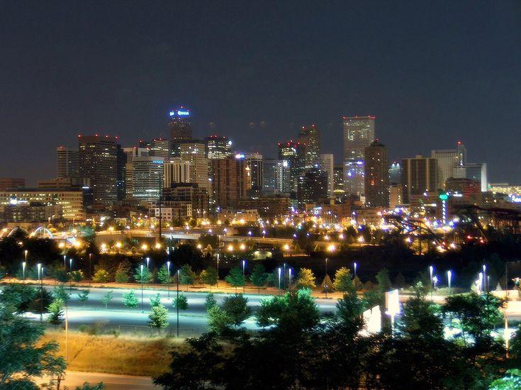 The beautiful Denver skyline
