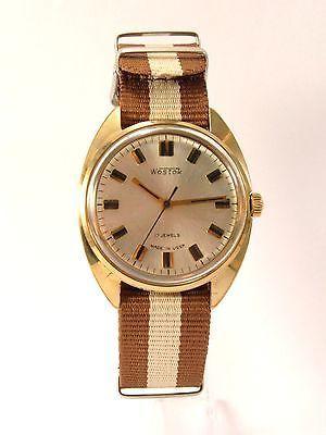 Zegarek Wostok Armbanduhr Watch Gold Wirstwatch USSR Russische Russian CCCP