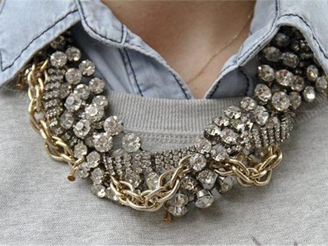 Statement Necklaces: κολιέ με άποψη