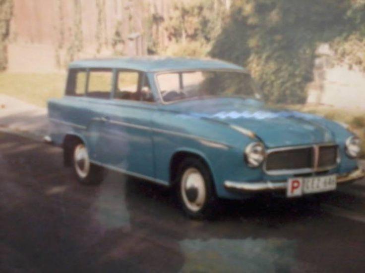 1959 Borgward Hansa 2 door station wagon for sale (1/1) - Historic Commercial Vehicle Club of Australia - Historic Commercial Vehicle Club of Australia
