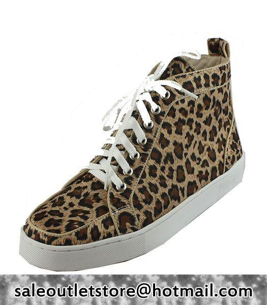 Christian Louboutin Rantus Orlato Leopard print Brown for Men-Ladies,christian  louboutin Louboutin shoes cheap,christian Llouboutin Men Outlet,Christian  ...
