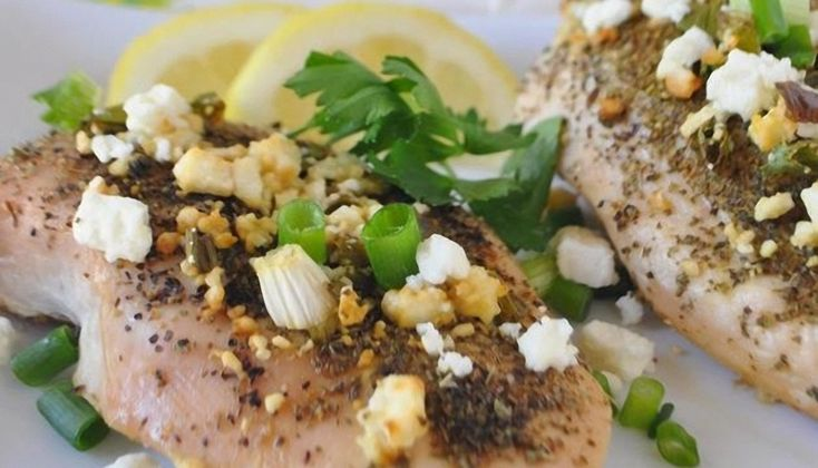 Lemon Feta Chicken Recipe