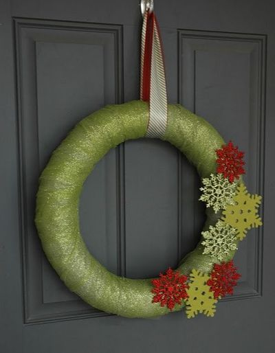Burlap Christmas IDEAS | DiY burlap and tulle Christmas wreath. / christmas xmas ideas ...