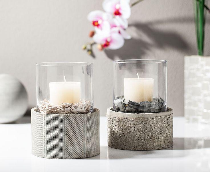 kreativ tipp windlicht aus kreativ beton basteln diy beton pinterest und basteln and blog. Black Bedroom Furniture Sets. Home Design Ideas