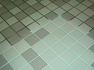 Homemade grout cleaner: 7 cups water, 1/2 cup baking soda, 1/3 cup