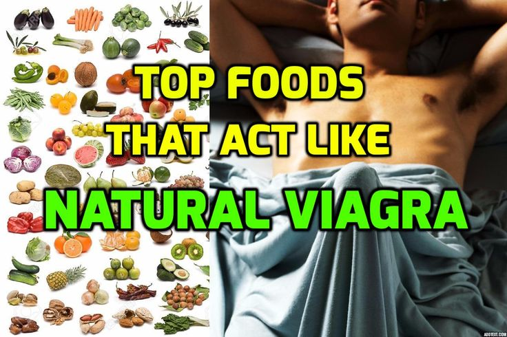Foods that act like viagra