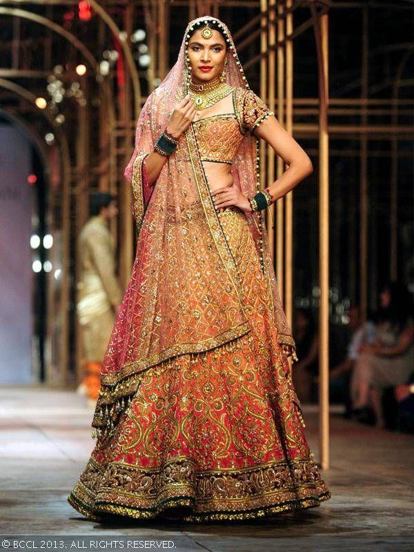 http://www.TarunTahiliani.com/index.html @ Aamby Valley India Bridal Fashion Week (Dec) 2013, via @sunjayjk