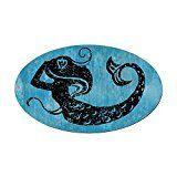mermaidhomedecor  - Mermaid Magnetic Bumper Sticker $7.99