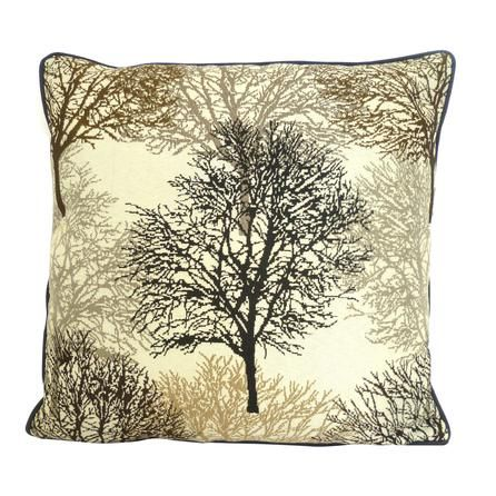 Tree Jaquard Cushion | Dunelm Mill