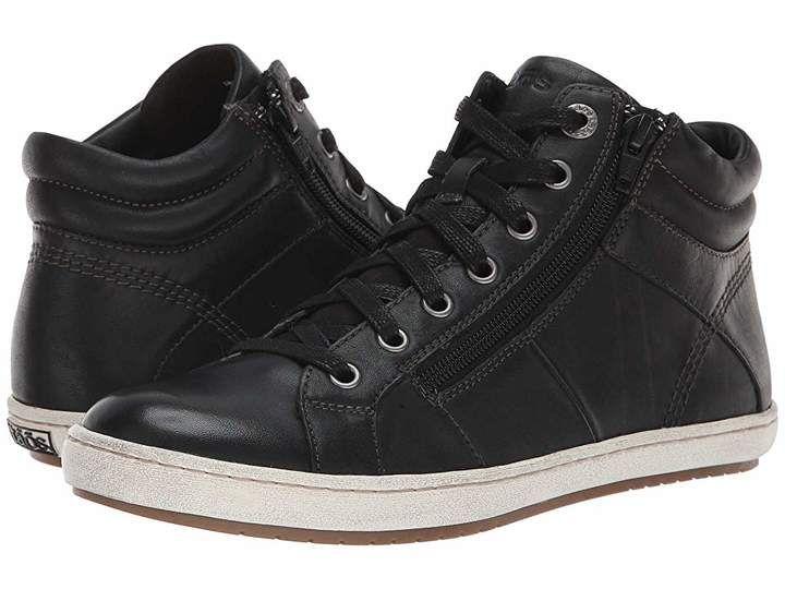 Taos Footwear Union   Black leather