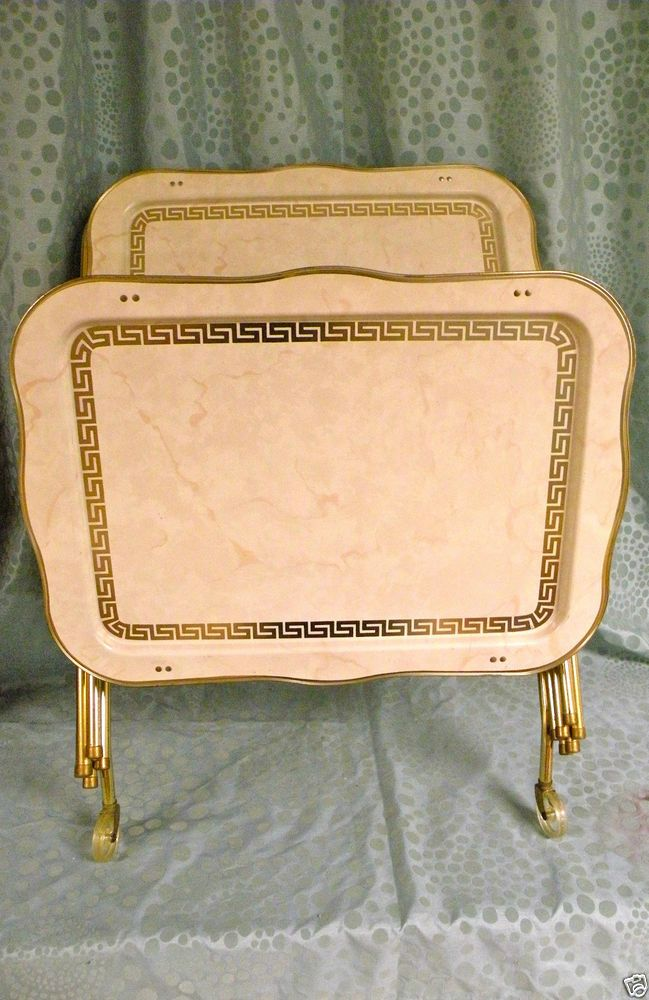 1000 images about tv trays on pinterest tray tables 1960s and serving cart. Black Bedroom Furniture Sets. Home Design Ideas