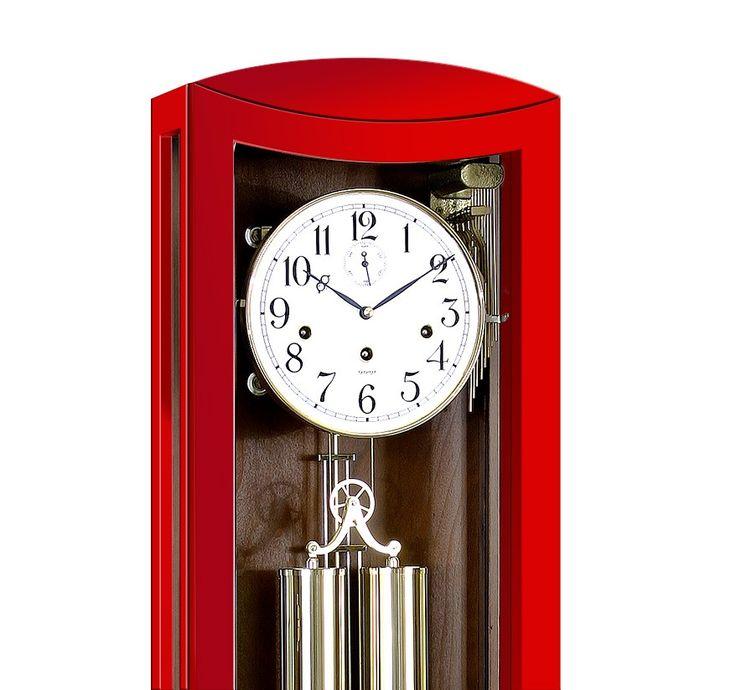 Niepowtarzalna seria KOLOROWYCH zegarów wiszących z sygnowanym mechanizmem niemieckiej firmy Kieninger.