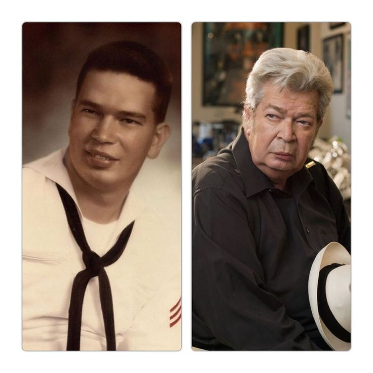 """Richard Harrison-Navy-20 years-paymaster-Petty officer first class-served on four ships-(Pawn Stars-""""The Old Man"""")"""